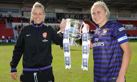 Shelley Kerr and Steph Houghton